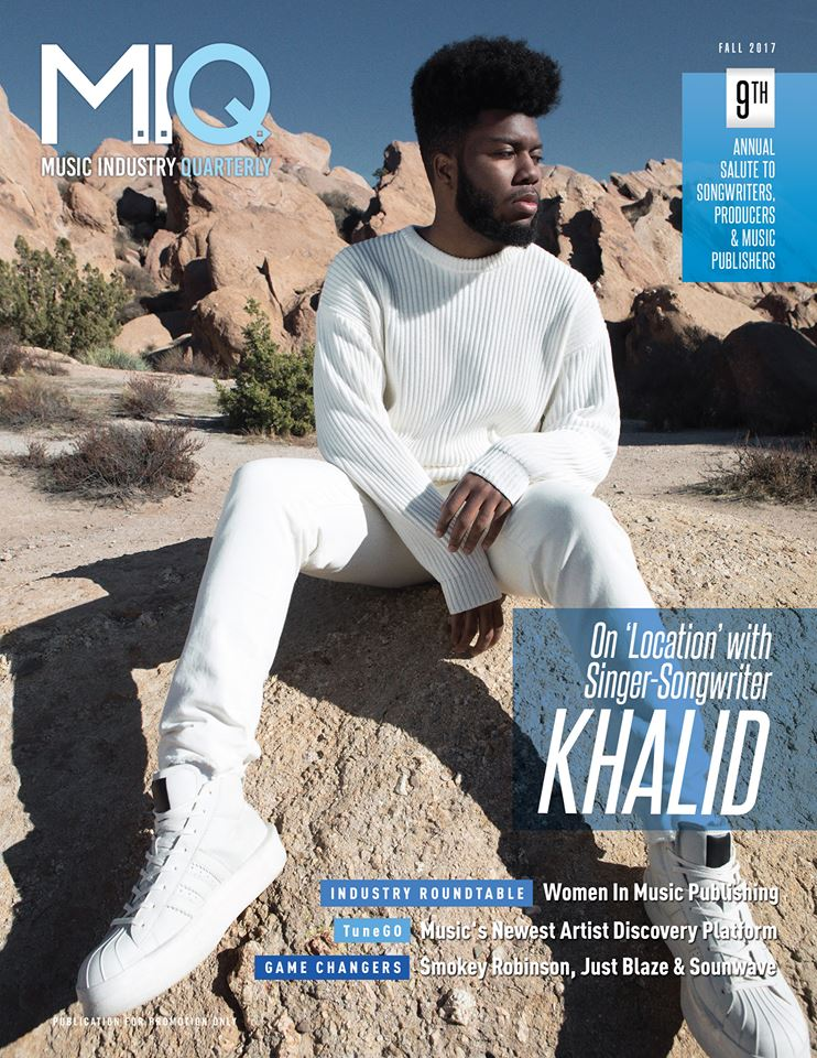 Cover Story: On 'Location' with Singer Songwriter KHALID | MIQ