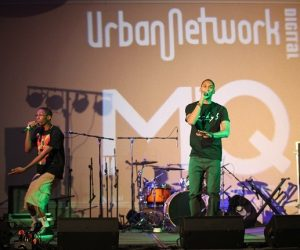 Rap/Hip-Hop duo Conceptz brought their lyrical skills to the Conference stage for a 2nd year