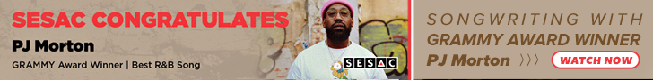 PJ Morton,Grammy Award Winner, Music Industry Quarterly, SESAC
